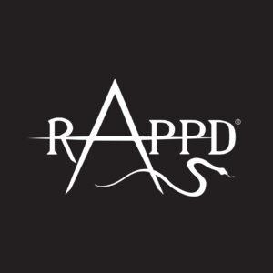 RAPPD Logo White