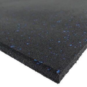 black rubber blue fleck flooring A 540x